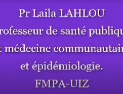 Intervention de Pr. Laila LAHLOU, Santé Publique et Médecine Communautaire et Épidémiologique